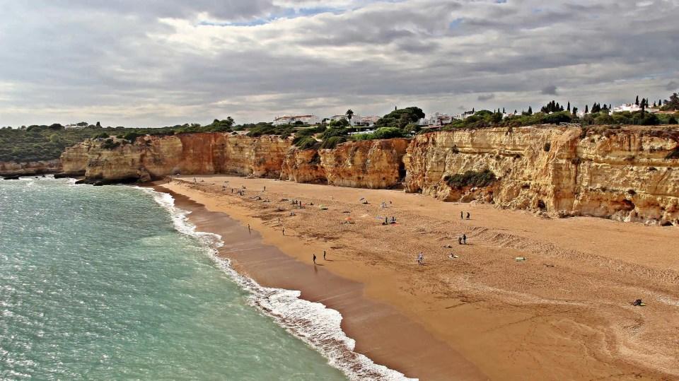 Plaże w Algarve