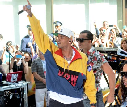 Chris Brown @ Today Show