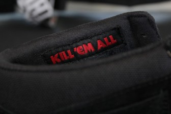 Μetallica & Vans -  Kill 'em All -παπούτσια