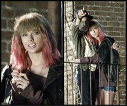 Taylor Swift @ I Knew You Were Trouble video set
