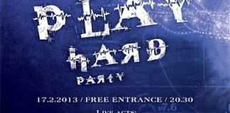 Play Hard party 17.02 poster