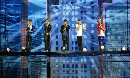 One Direction 'Take Me Home' World Tour