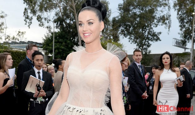 Katy Perry Grammys 2014 Red Carpet