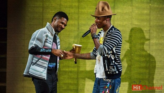 Usher, Pharrell και Nicki Minaj συνεργάζονται στο 'She Came To Give It To You' #listen