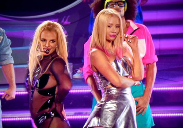 Billboard Music Awards 2015 Britney Spears e Iggy Azalea