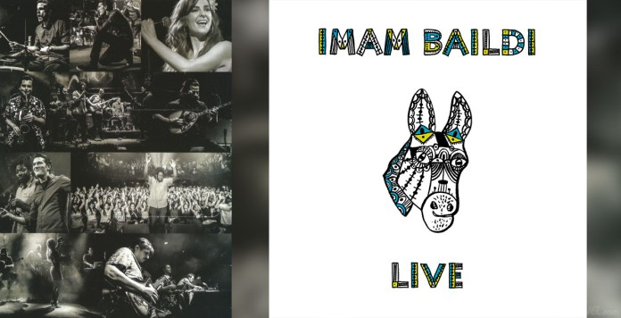 Imam Baildi Live (CD album cover 2016) - Hit Channel