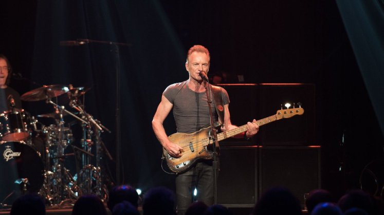 Sting - Bataclan concert (12-11-2016) - Hit Channel