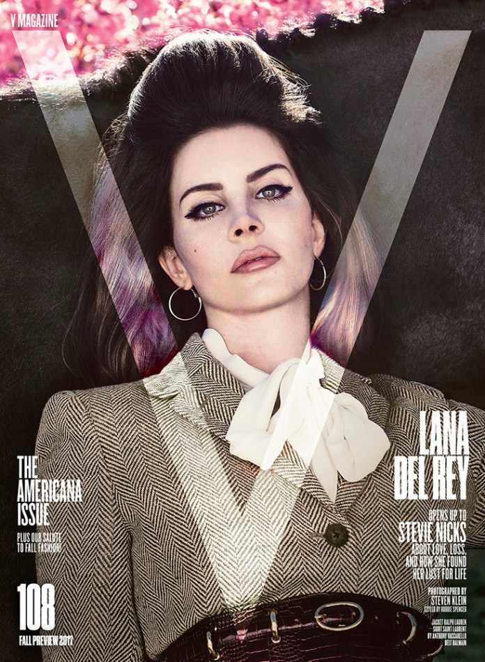 Lana Del Rey - V Magazine 108 (cover) - Hit Channel