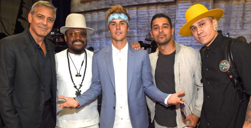 George Clooney - will.i.am- Justin Bieber - Wilmer Valderrama - Taboo - Hand in Hand - Hit Channel