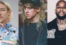 Tory Lanez, Cashmere Cat, Jillionaire & Diplo of Major Lazer