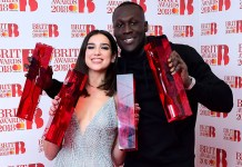 Dua Lipa - Stormzy - BRIT Awards 2018 - Hit Channel