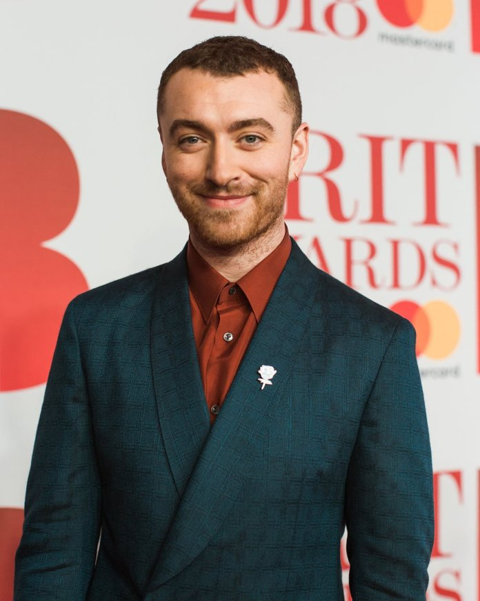 Sam Smith - red carpet - BRIT Awards 2018 - Hit Channel
