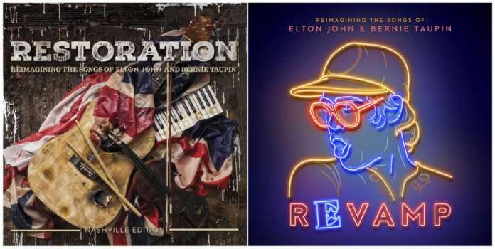 Elton John - Restoration - Revamp (album covers) - Hit Channel
