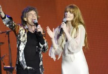 Mick Jagger (The Rolling Stones) - Florence Welch - Hit Channel