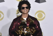 Bruno Mars - 60th Grammy Awards 2018 - Hit Channel