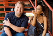 James Corden - Ariana Grande - Hit Channel