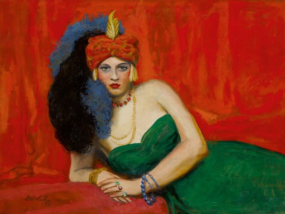 Walt-Kuhn-Girl-With-Turban-Zuleika-1938