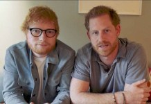 Ed Sheeran - Prince Harry