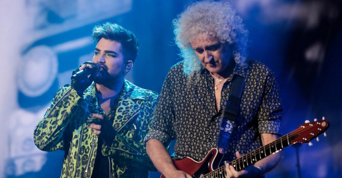 Queen - Adam Lambert - Fire Fight Australia