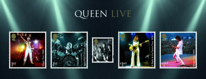 Queen stamps - minisheet