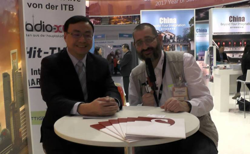ITB 2017 Interview – Derek Lin Swan Hotels China