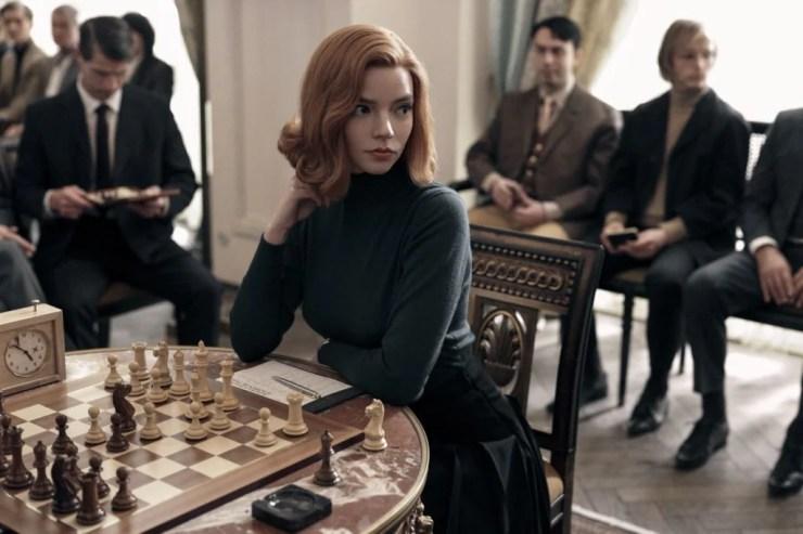 the queen's gambit filmed