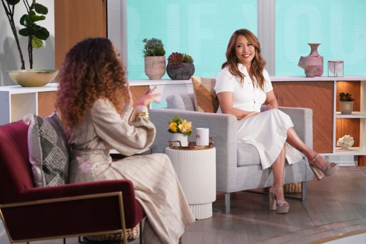 The Talk: What happened to CBS' Carrie Ann Inaba? Health ...