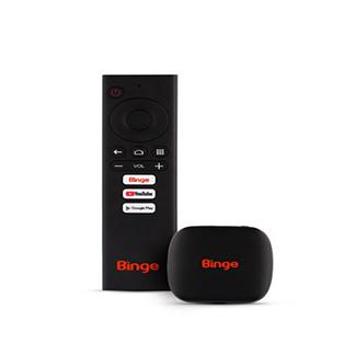 Binge RAM 1GB DDR4 ROM 8GB Android Tv Box
