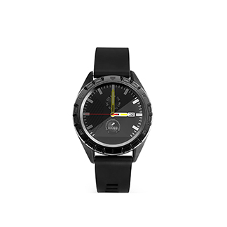 Smart Watch Astrum Band Ip67 Hr Bp Bo Call Gps 1.3Inch Sw400 Black