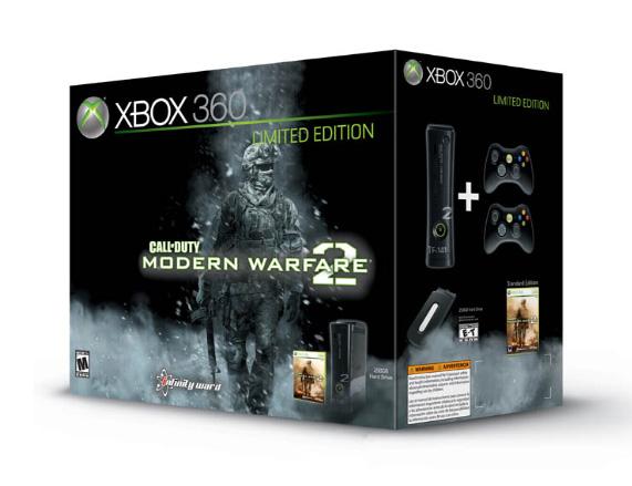 Xbox360 Call Of Duty Modern Warfare 2 Limited Edition Console