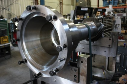 Precision Machine tool quill spindle