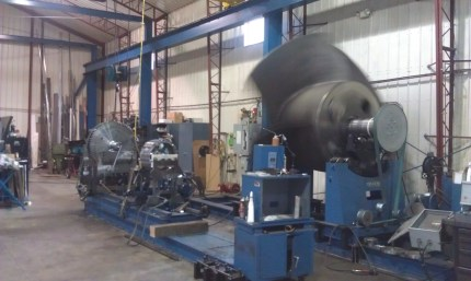 16,000 pound impeller for Providence Rhode Island Hurricane Barrier Pump Station