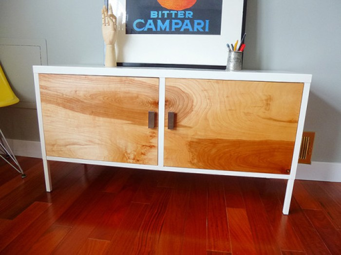 south shore olly mid-century modern 6 drawer dresser
