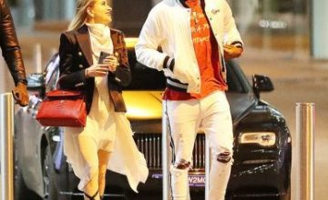 Paul Pogba Steps Out With Girlfriend Maria Salaues