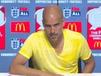 Pep Guardiola Speaks On Man City Winning The Premier League Again