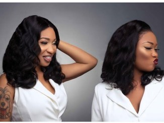 [PHOTOS] Tonto Dikeh Launches Luxury Hair Line Called 'King Tonto Collection'