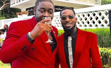 [PHOTOS] D'Banj Buys A Range Rover For Cheekychizzy