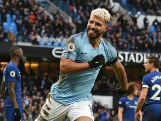 See What Aguero Said After Man City Destroyed Chelsea 6 – 0