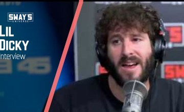"Lil Dicky Talks ""Earth,"" Justin Bieber & More On Sway In The Morning"