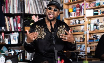 The-Dream Performs 'Sextape' + 'LoveHate' Medley During Tiny Desk Concert