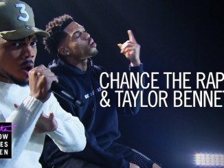 """Chance the Rapper & Taylor Bennett Perform """"Roo"""" On The Late Late Show"""