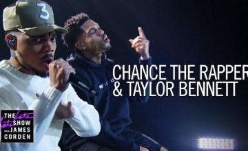 "Chance the Rapper & Taylor Bennett Perform ""Roo"" On The Late Late Show"