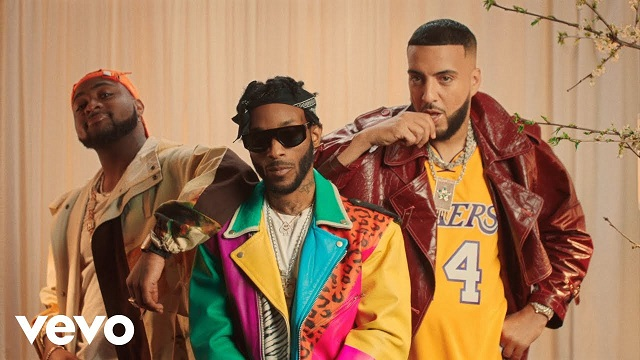 VIDEO Angel – Blessings (Remix) ft. French Montana, Davido