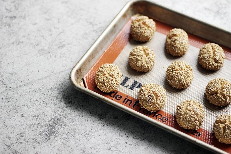 イタリアの簡単ごまクッキー、ビスコッティ・レジーナ
