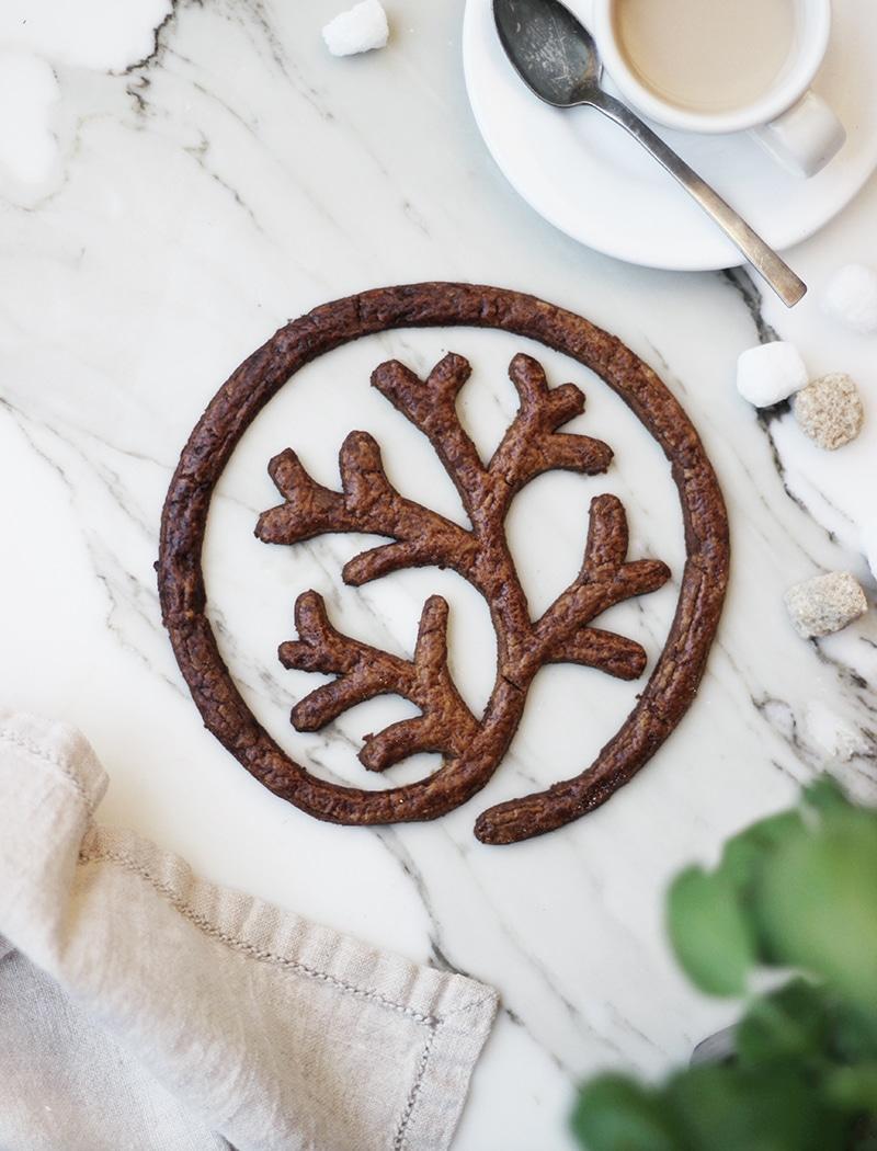 hinokiLABのロゴクッキー