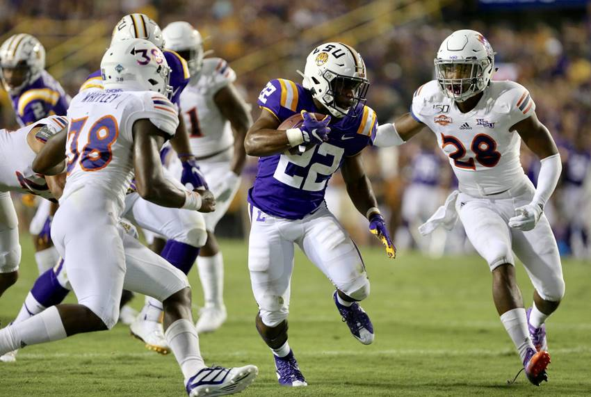 Overshadowed by passing explosion, LSU's running game needs improvement