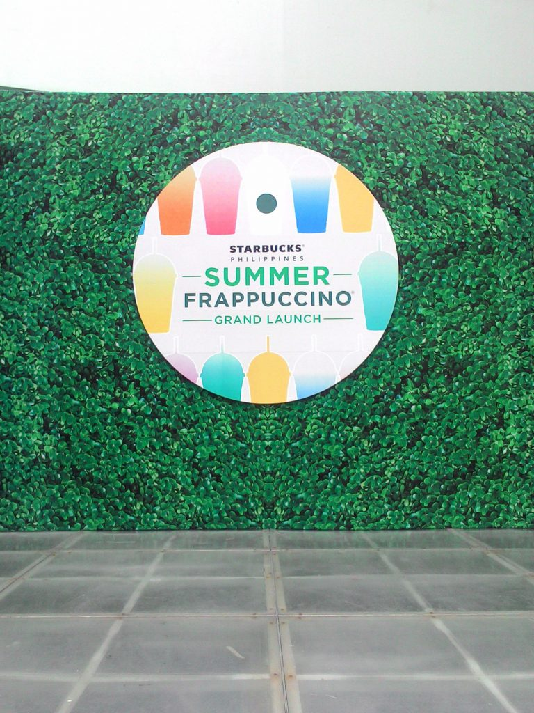 Starbucks Summer Frappuccino Grand Launch