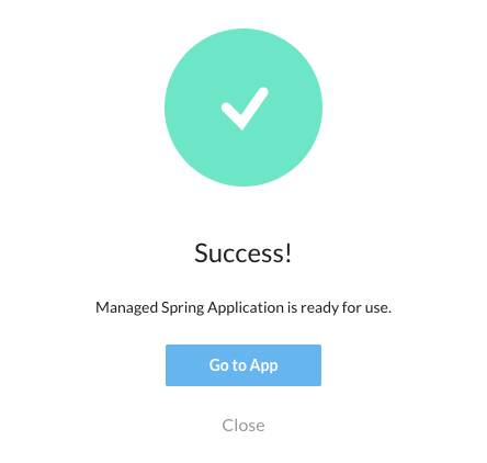 Feature Toggle Application Initialized for Spring Feature Toggle