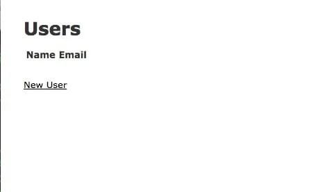Rails logger user page