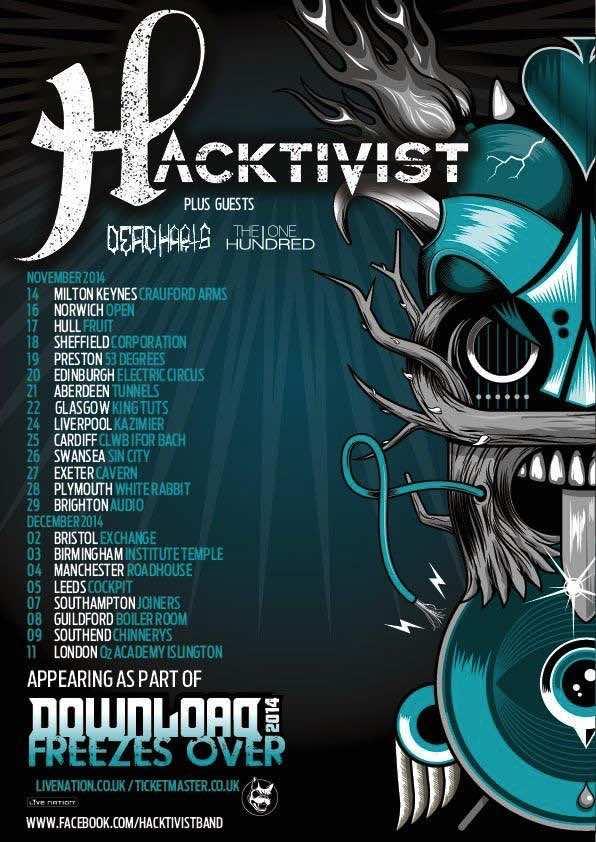 Hacktivist - Download Freezes Over Tour 2014
